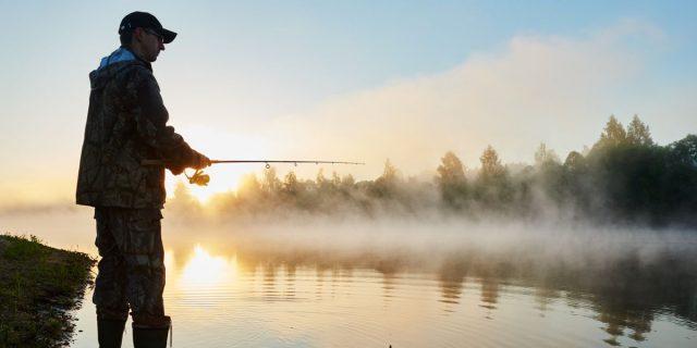 momeala la pescuit